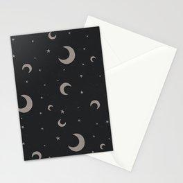 Moon Dark Stationery Cards