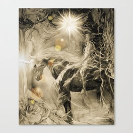 Succession in Sepia with Light1 Canvas Print