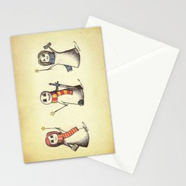 The Silver Trio Stationery Cards