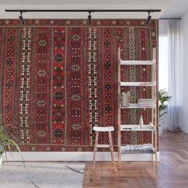 Baluch Flatweave  Antique Afghanistan  Rug Print Wall Mural
