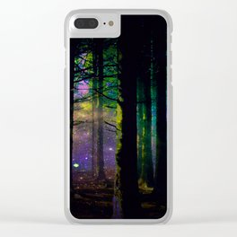 Fairy dust everywhere Clear iPhone Case