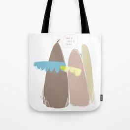And at times it rains Tote Bag