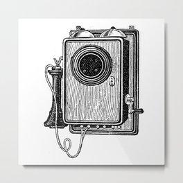 Old telephone 2 Metal Print