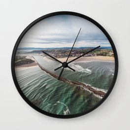 Where the river ends Wall Clock