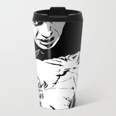 The Terrifying Lover (Mono) Metal Travel Mug