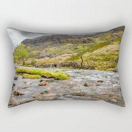 Llanberis Pass Snowdonia Rectangular Pillow