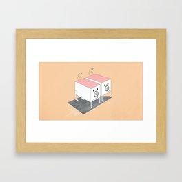 Ziggie Piggie Framed Art Print