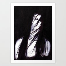 JU-ON Art Print