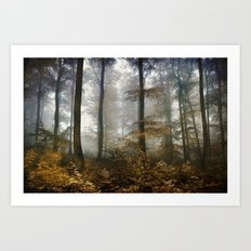 FOREST MYSTIC Art Print