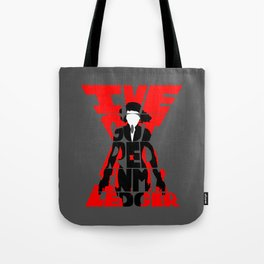 Black widow red Tote Bag