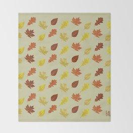 Fall. Throw Blanket