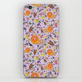 Cute Tropical Pattern iPhone Skin