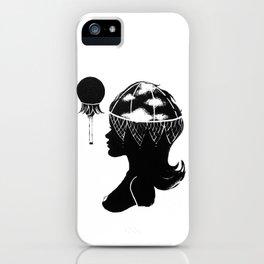 Cloudia Silhouette iPhone Case