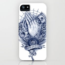 Praying Hands iPhone Case