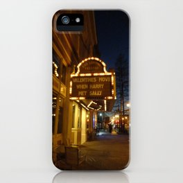 When Harry Met Sally iPhone Case
