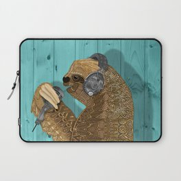 Sloth Song Laptop Sleeve