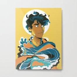 Son of the Sea: Percy Jackson Metal Print