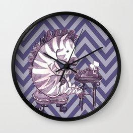Typin' Stripes Wall Clock