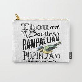 Bootless Rampallian Popinjay Carry-All Pouch