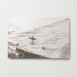 Surfs  Up Metal Print
