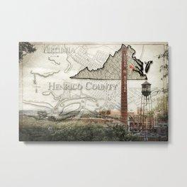 Henrico County VA Metal Print
