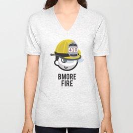 BMORE FIRE Unisex V-Neck