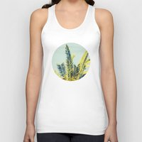 palm Tank Tops featuring Palm by Esther Ní Dhonnacha