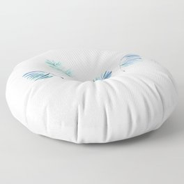 Cold Tropical Floor Pillow