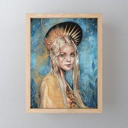 Divinity Framed Mini Art Print
