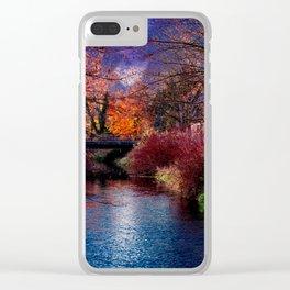 Concept Baden-Wuerttemberg : River Rottum through Laupheim Clear iPhone Case