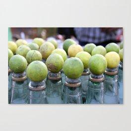 Lemon Sodas Canvas Print