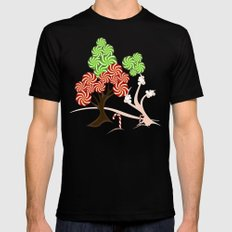 Magic Candy Tree - V1 MEDIUM Black Mens Fitted Tee