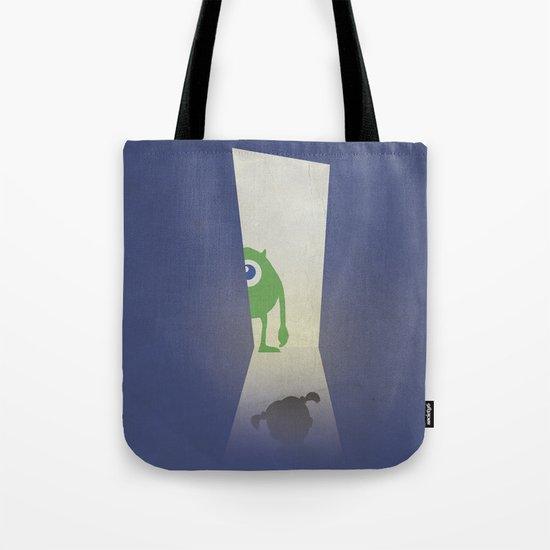 Monsters Inc. Walt Disney Alternative Movie Poster Tote Bag