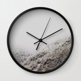 White breath Wall Clock