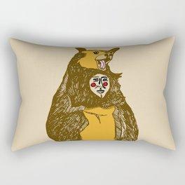 Bear Man Rectangular Pillow