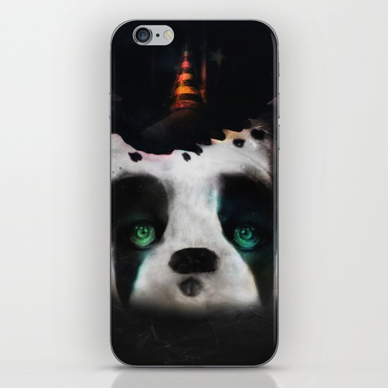 Dog ( Capalau) iPhone & iPod Skin