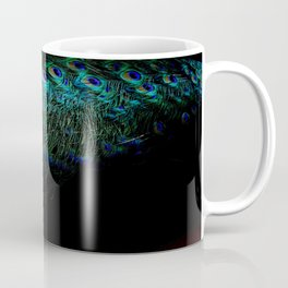 Peacock Details Coffee Mug