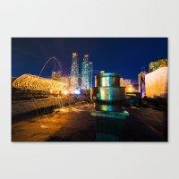 metallic Canvas Prints featuring Metallic by Sonic Highlark
