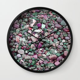 Over hill and dale Wall Clock