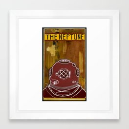 The Neptune Framed Art Print