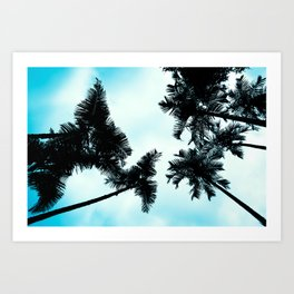 Turquoise Fun - nature photography Art Print