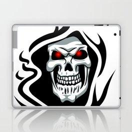 Skull tribal tattoo Laptop & iPad Skin