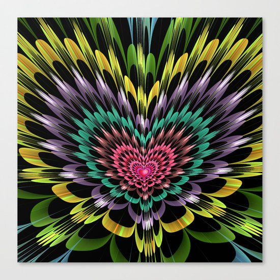 My heart explodes for you Canvas Print