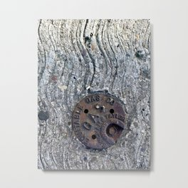 Its a Gas Metal Print