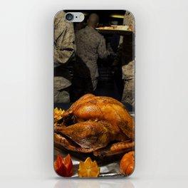 Thanksgiving Turkey for US Military Servicemen  iPhone Skin