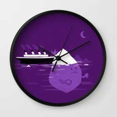 Rude Awakening Wall Clock