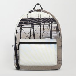 Victorian Pier - sunset graphic Backpack