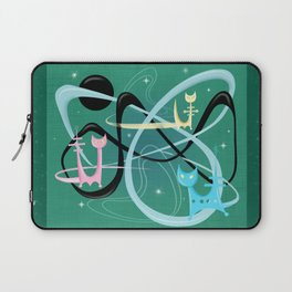Atomic Rocket Cats In Space Laptop Sleeve