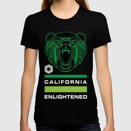 California Enlightened Bear Flag T-shirt