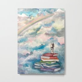 Rainbow of Knowledge Metal Print